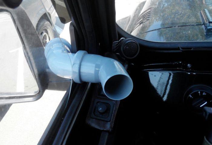 Улучшаем обдув автомобиля (3 фото)