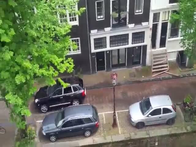 Необычная гонка в Амстердаме