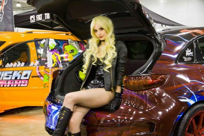 Новинки автовыставки Moscow Tuning Show 2016 (40 фото)