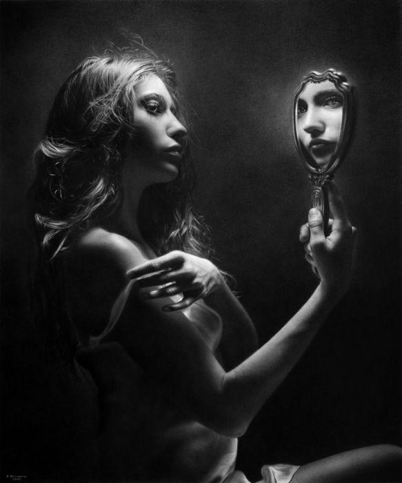 Гиперреалистичные картины художника Эмануэля Дасканио (26 фото)