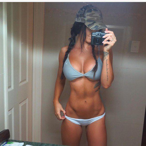Стеф Пакка - сексуальная фитнес-модель из Австралии (14 фото)