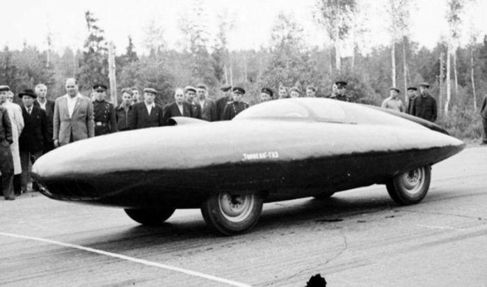 Советский рекордсмен скорости «ГАЗ-Торпедо» (5 фото)