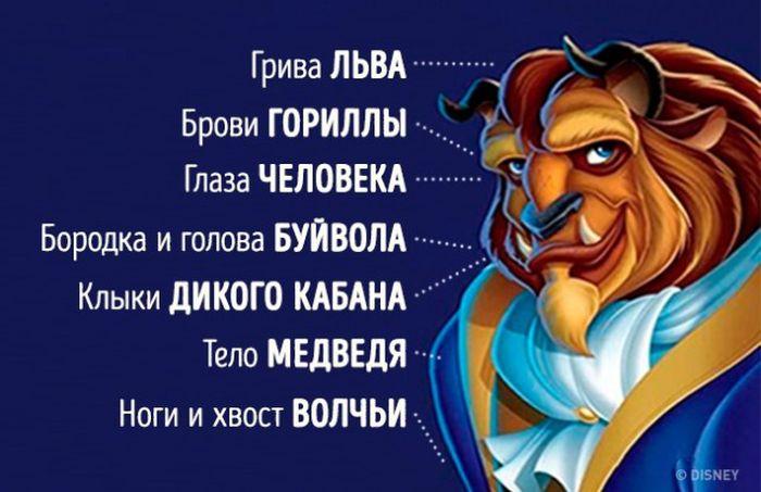 Тайны и секреты диснеевских мультфильмов (14 фото)