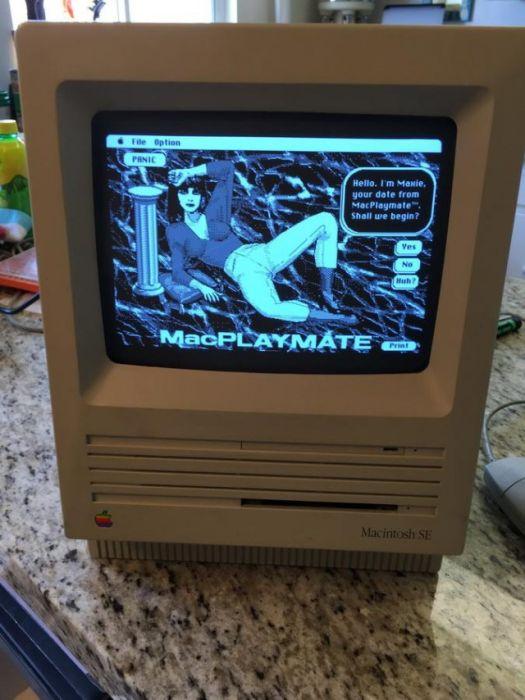 Как выглядело порно на Макинтоше 30-летней давности (17 фото)