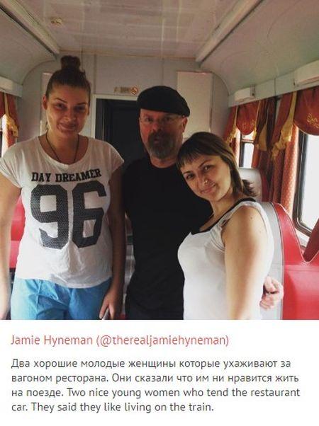 Ведущий передачи «Разрушители легенд» Джейми Хайнман о путешествии по России (14 фото)
