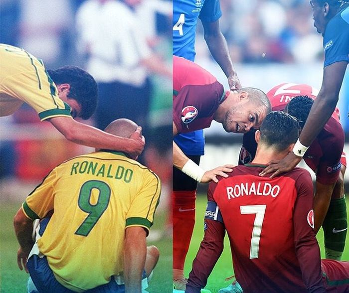 Трагедия Луиса Рональдо и Криштиану Роналду с разницей в 18 лет (фото)