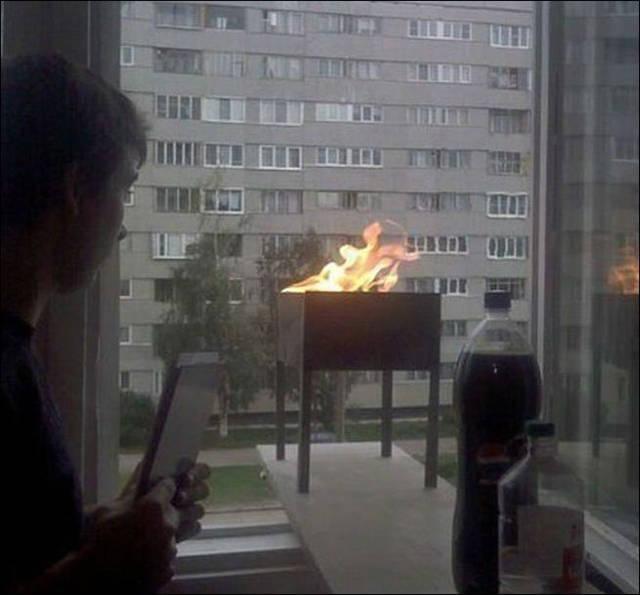 Фото, которые возможно было сделать только в России. Часть 33 (37 фото)