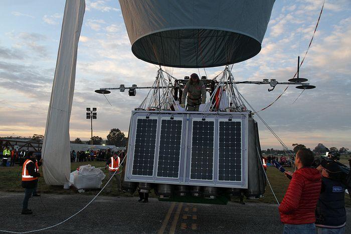 Федор Конюхов отправился в кругосветный полет на воздушном шаре (4 фото)