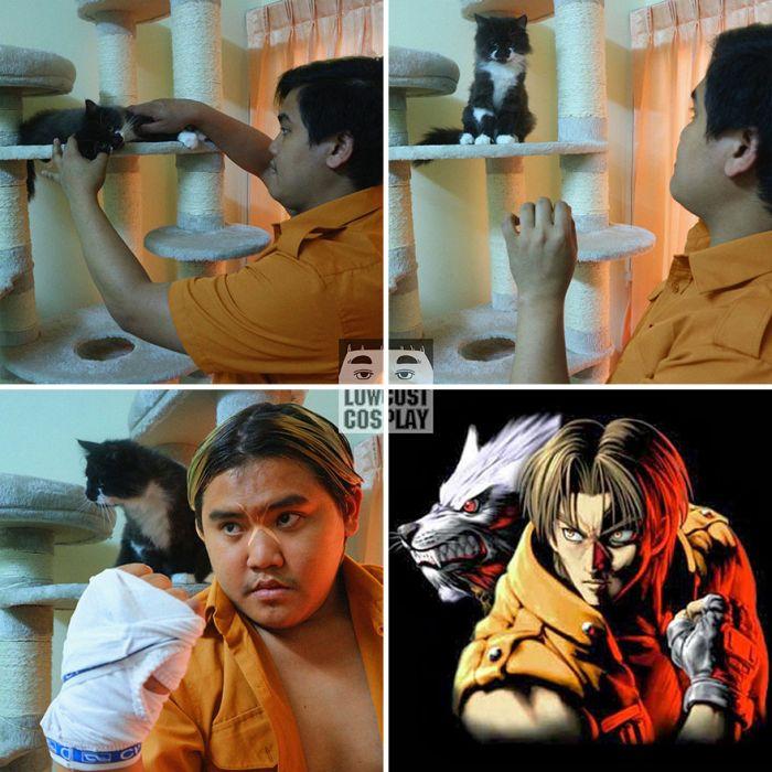 Дешевый косплей от тайского парня (26 фото)