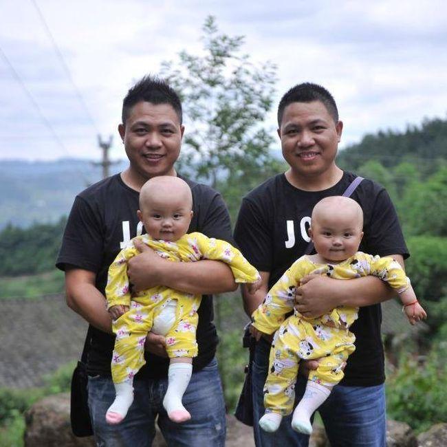 СМИ обнаружили китайскую деревню близнецов (5 фото)