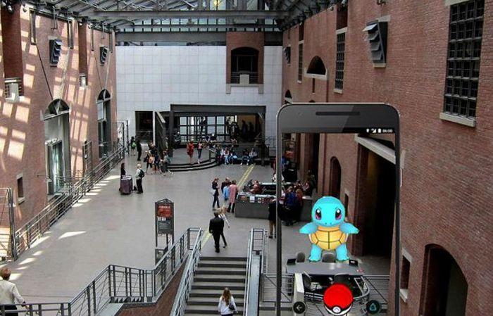 Поклонники игры Pokemon Go посетили вашингтонский музей Холокоста (2 фото)