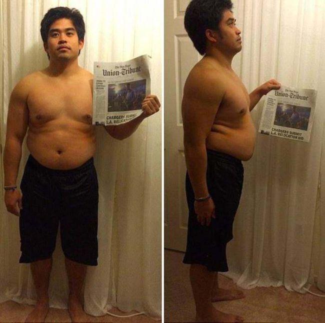 Парень обрел фигуру мечты за 12 недель и выиграл 100 000 долларов (7 фото)