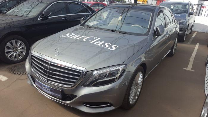 Подержанный Mercedes-Benz S-Class W222 за 4,7 миллиона рублей (20 фото + текст)