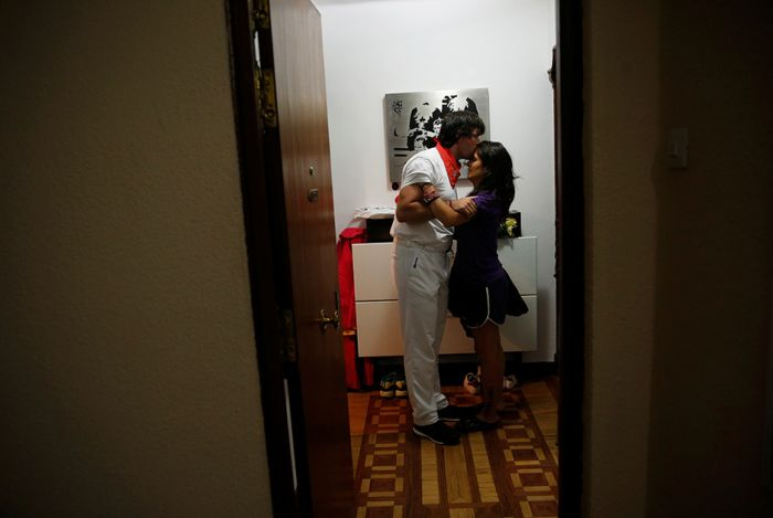 Удивительная история участия энсьерро (18 фото)