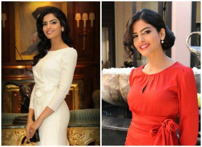 Амира ат-Тавиль - прекрасная принцесса Саудовской Аравии (5 фото)
