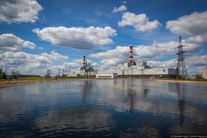 Экскурсия по действующей АЭС (57 фото)