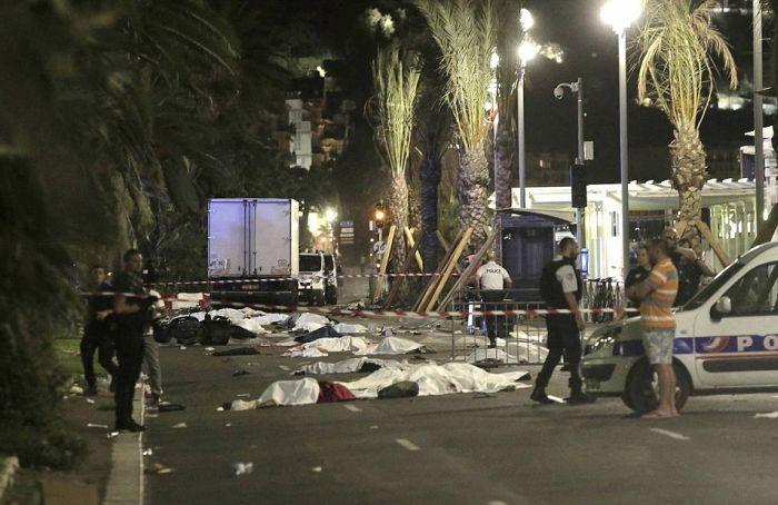 Страшный теракт в Ницце, Франция