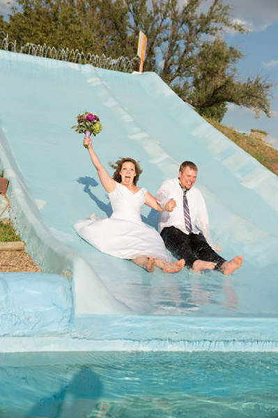 Забавные свадебные фото (39 фото)