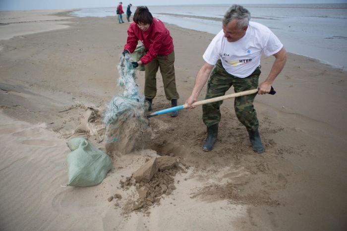 Как волонтеры спасают Байкал от мусора (21 фото)