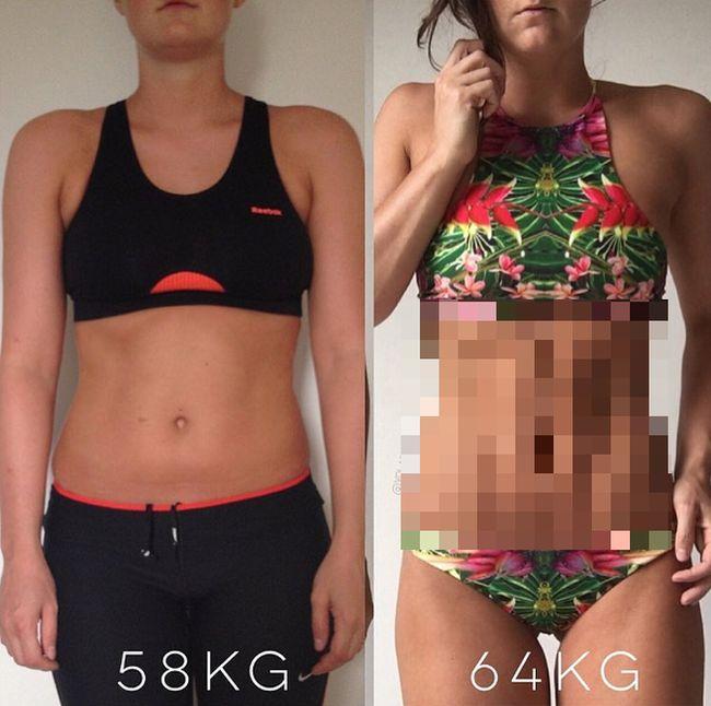 Почему не стоит так зацикливаться на своем весе (2 фото)