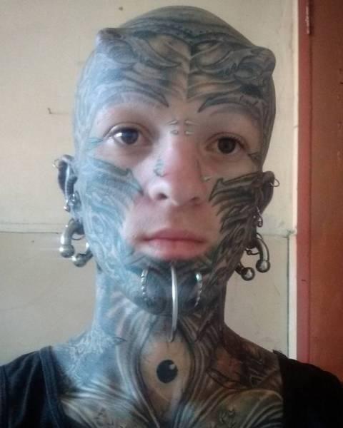 Модификаторы, кардинально изменившие свое тело (39 фото)