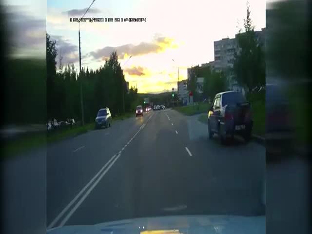 Погоня со стрельбой в городе Лесной