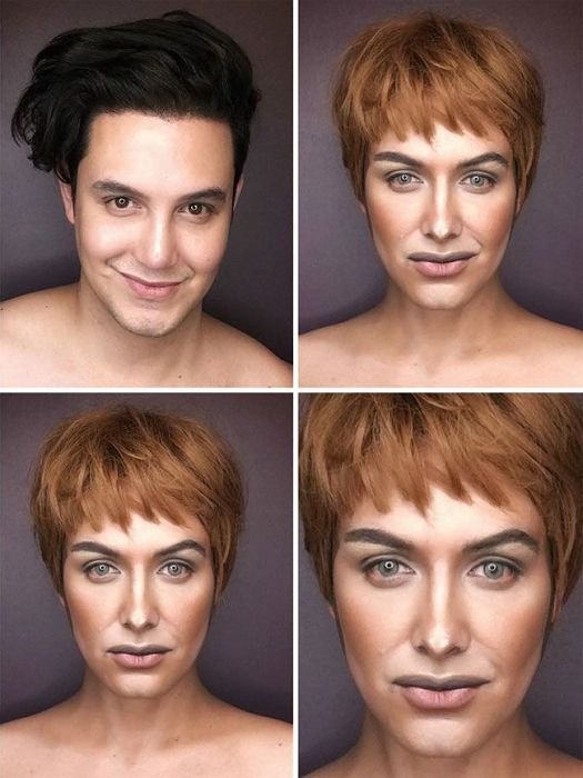 Талантливый визажист превращает себя в героинь сериала «Игра престолов» (7 фото)