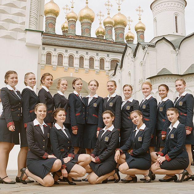 Как живут учащиеся Пансиона воспитанниц Министерства обороны (20 фото)