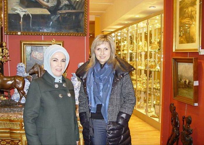 Роскошная жизнь президента Турции Реджепа Эрдогана и его жены Эмине (17 фото)