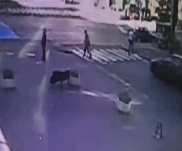 Появилось видео с моментом взрыва автомобиля Павла Шеремета