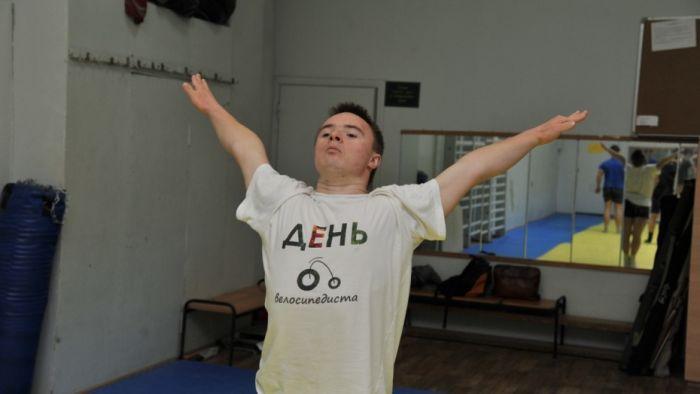 Воронежский гимнаст с синдромом Дауна завоевал 5 медалей на Всемирных играх для людей с синдромом Дауна (9 фото)