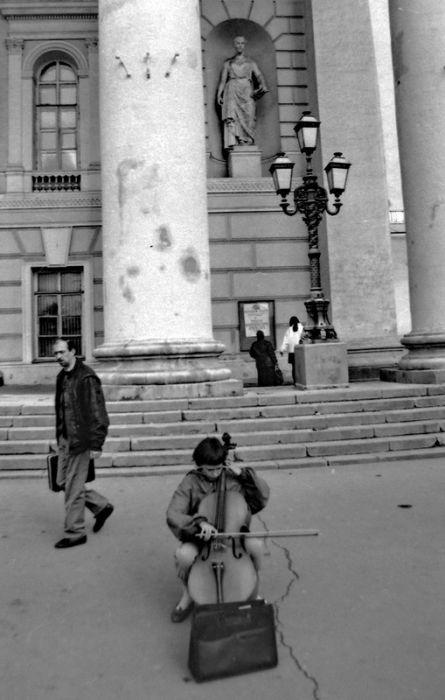 Москва начала 90-х на фото Геннадия Михеева (44 фото)