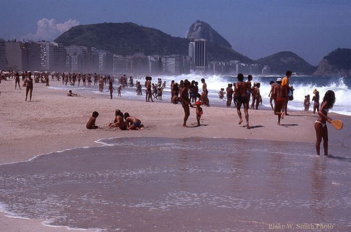 Пляжная жизнь Рио-де-Жанейро в конце 70-х годов (22 фото)