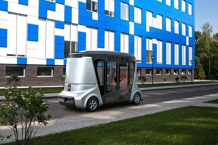 Концептуальный отечественный беспилотный автомобиль MATRESHKA (5 фото)