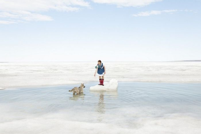 Знакомство с поселком Тикси по фото Евгении Арбугаевой (15 фото)