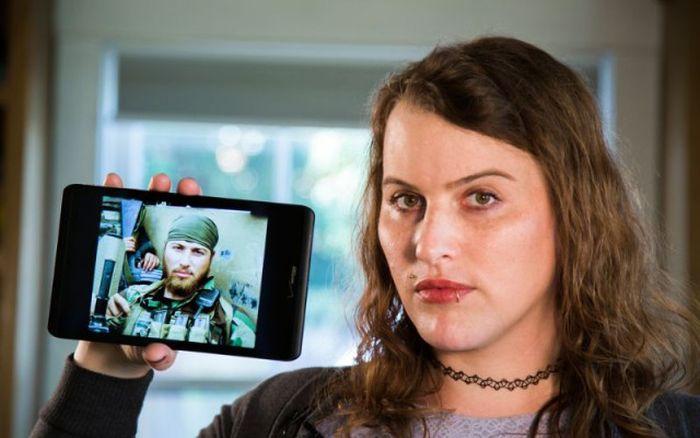 Боец американского спецназа не смог стать настоящим мужчиной и стал женщиной (8 фото)