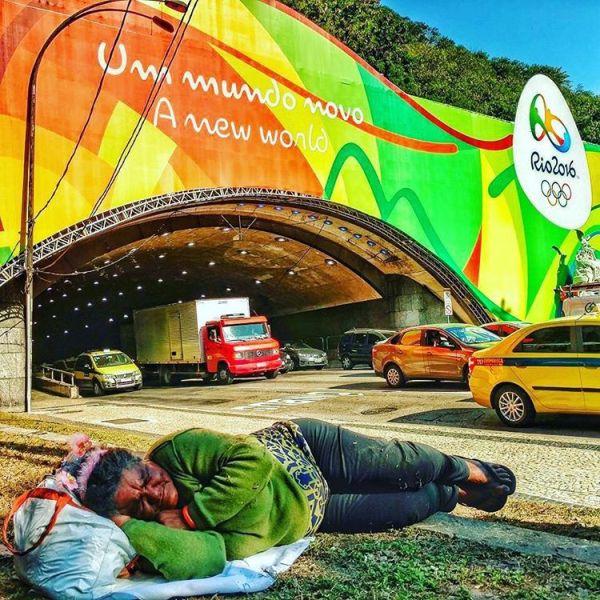 Рио-де-Жанейро в преддверии Олимпийских игр (29 фото + 2 видео)