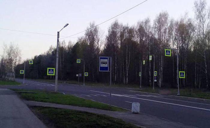Фото, которые возможно было сделать только в России. Часть 34 (50 фото)