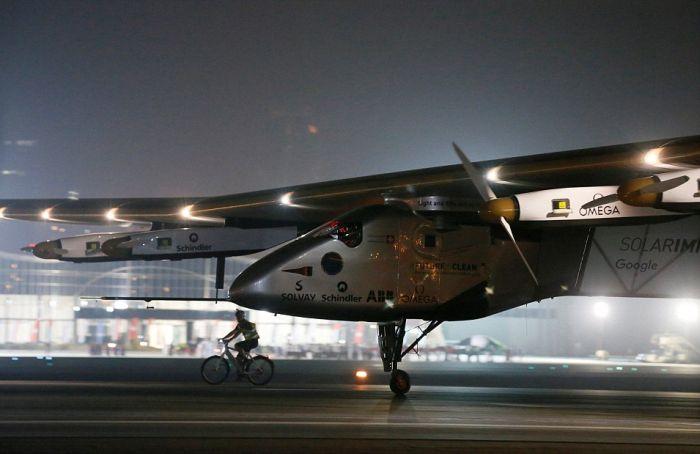 ������� �� ��������� �������� Solar Impulse 2 �������� ������������ ������� (8 ����)