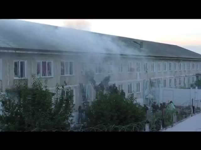 Штурм взбунтовавшейся исправительной колонии в Хакасии