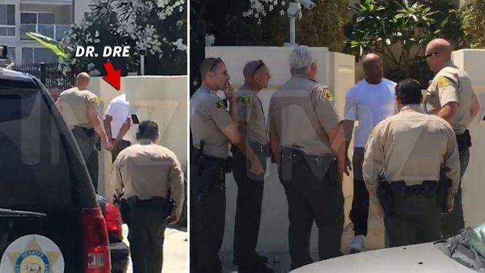 Полиция арестовала рэпера Dr. Dre (Андре Янга) (2 фото)