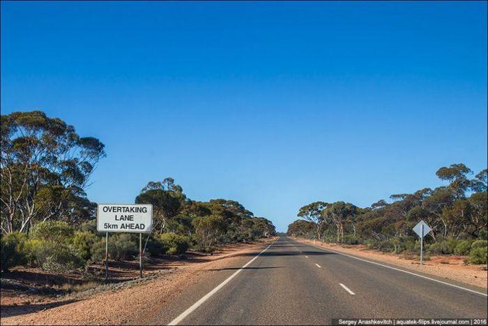 Идеальные австралийские дороги (21 фото)