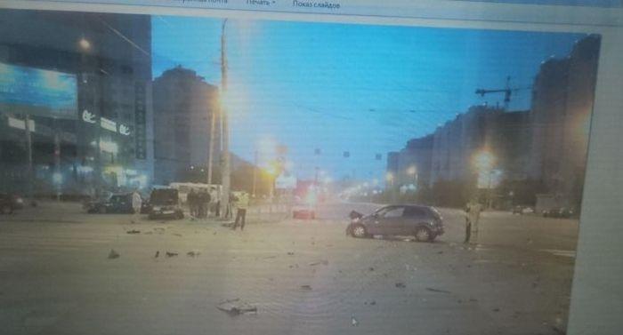 В Челябинске жертву ДТП могут признать виновником (5 фото + видео)