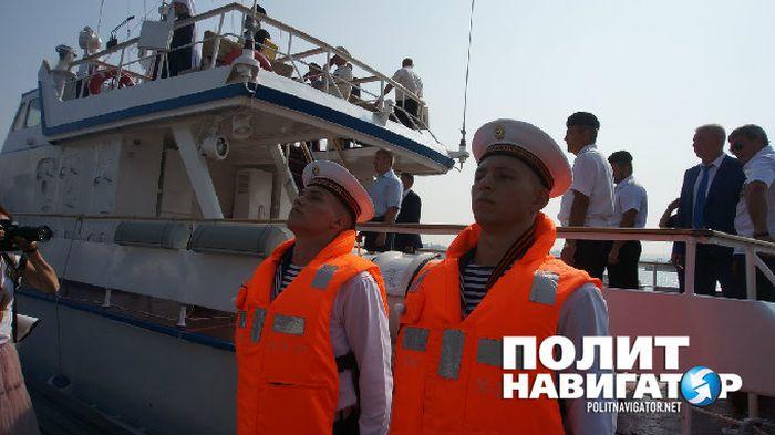 Нового губернатора Севастополя не хотели пускать на катер для VIP-персон (2 фото)