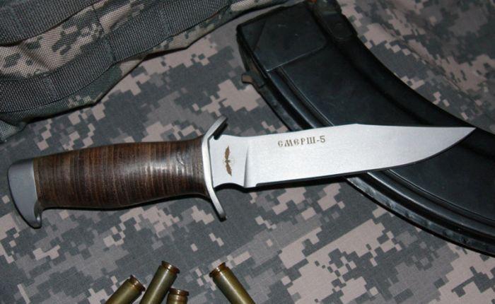 Боевые ножи отечественного спецназа (7 фото)