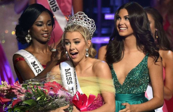 Финалистки конкурса красоты Miss Teen USA оказались на одно лицо (2 фото)