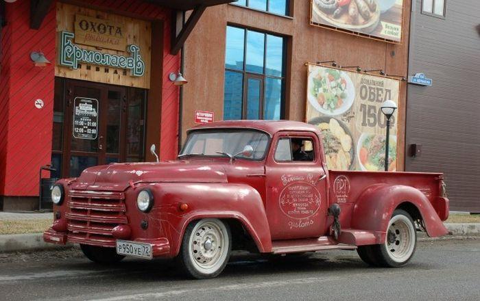 Rat Truck Redneck - отечественный кастом-кар из Тюмени (25 фото)