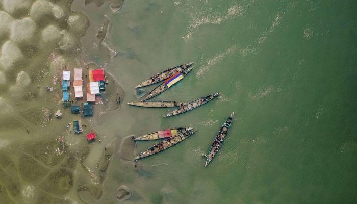 Красоты Бангладеша с высоты птичьего полета (14 фото)