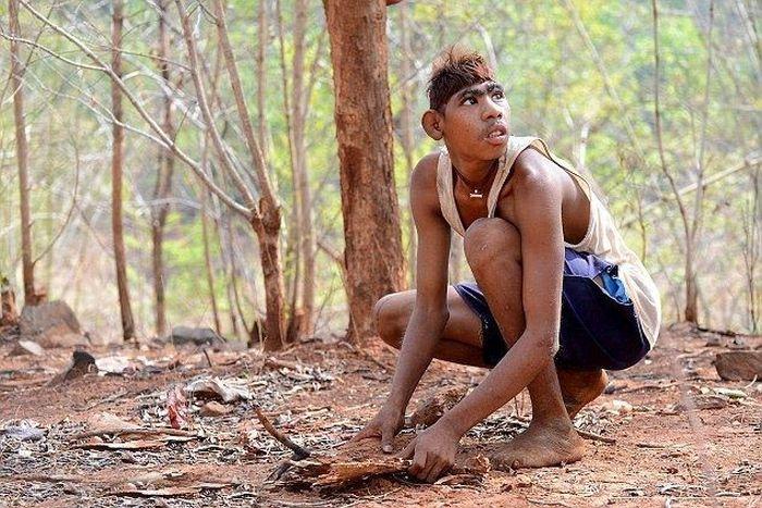 Современные Маугли из Индии (6 фото)
