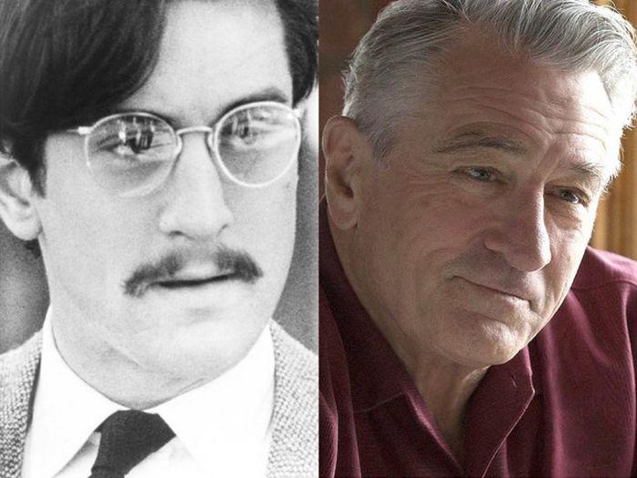 Известные актеры в своих первых ролях и сейчас (31 фото)